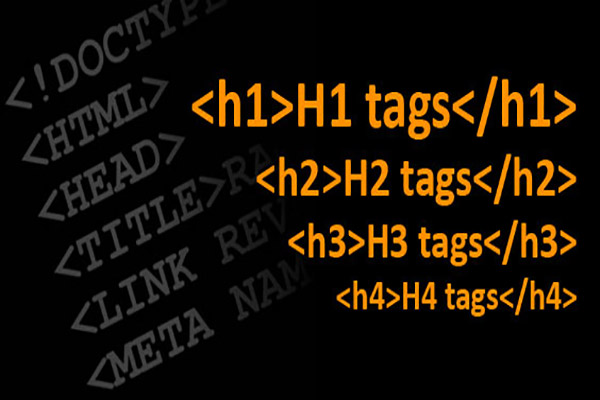 تگ هدینگ در HTML | تگ H1 تا H6 | تگ های هدینگ در HTML