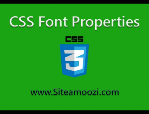 ویژگی های font در css بخش دوم