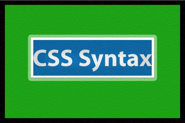 قواعد نوشتاری زبان css ساختار زبان css قواعد syntax - سایت آموزی