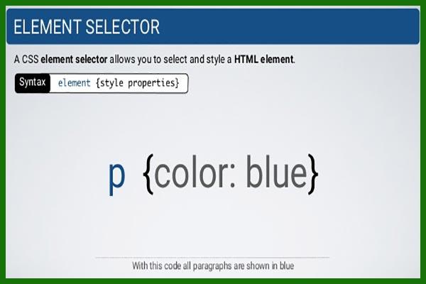 سلکتور های css بخش اول   تعریف سلکتور   انتخابگر   سلکتور Selector-x