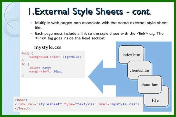 زبان css در طراحی سایت زبان طراحی css زبان سی اس اس - سایت آموزی