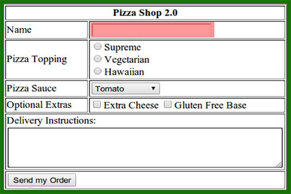 تگ input در html و خصوصیات مهم آن خاصیت accept و src