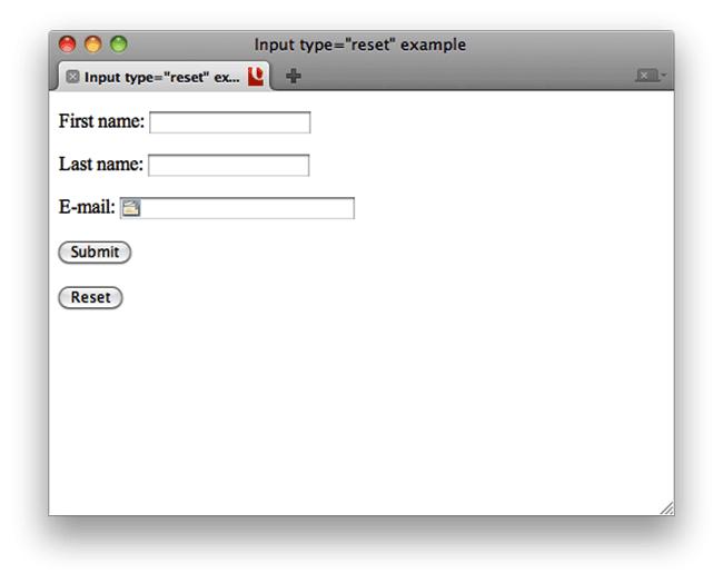 خاصیت type در تگ input