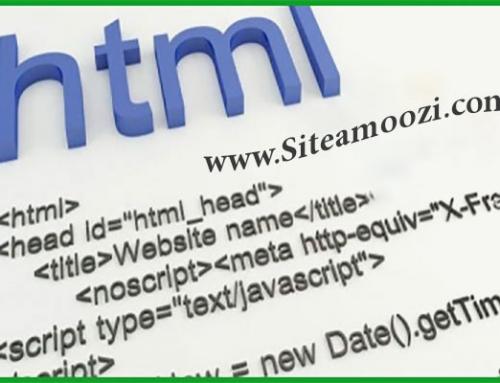 لیست کامل تگ های html