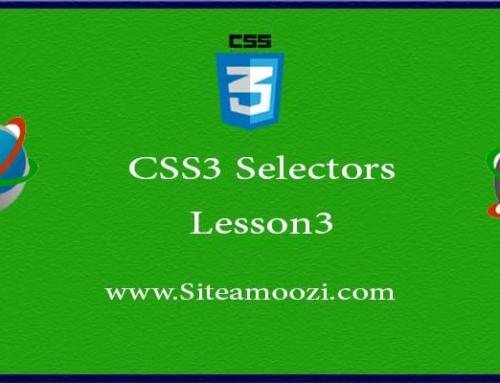 آموزش تصویری CSS3 جلسه سوم