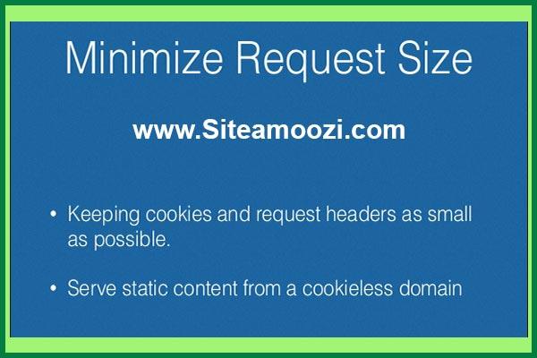 خطای minimize request size جی تی متریکس | minimize request size
