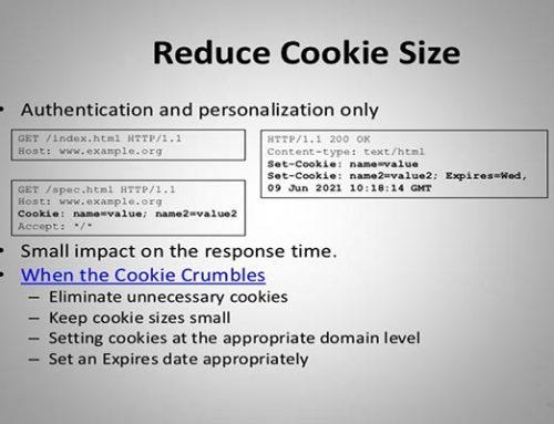 رفع خطای Reduce cookie size در YSlow