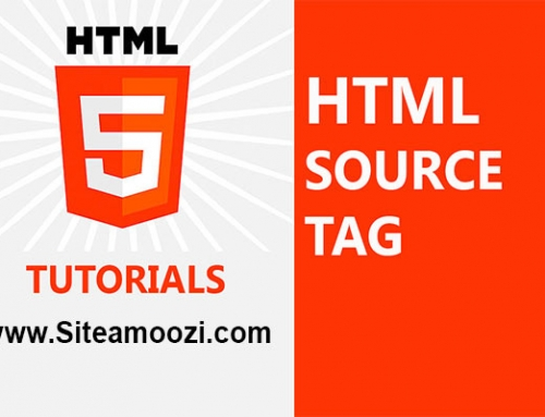 معرفی و کاربرد تگ source در HTML