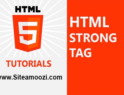 معرفی و کاربرد تگ strong در HTML