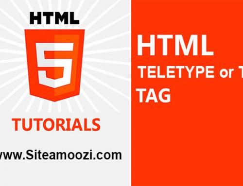 معرفی و کاربرد تگ tt در HTML
