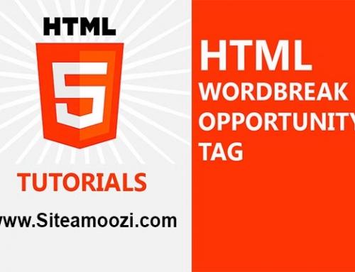 معرفی و کاربرد تگ wbr در HTML