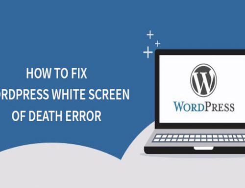 حل مشکل صفحه سفید در وردپررس