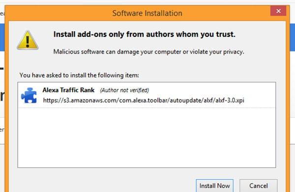 آموزش نصب نوار ابزار الکسا در مرورگر Firefox | نصب الکسا در فایرفاکس