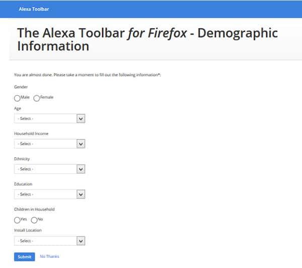 فیلم آموزشی نصب تولبار الکسا در مرورگر فایرفاکس - سایت آموزی
