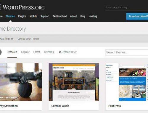 معرفی فایل های اصلی قالب وردپرس