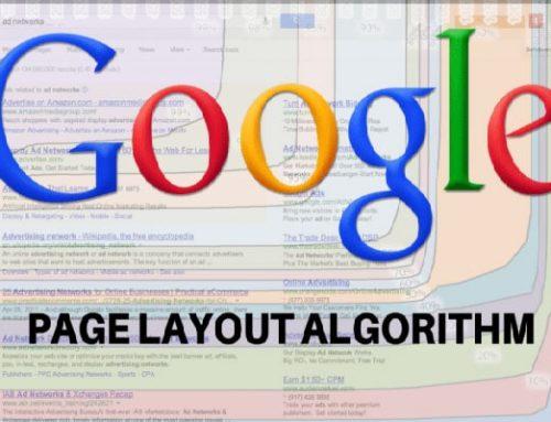 الگوریتم Page layout گوگل چیست؟