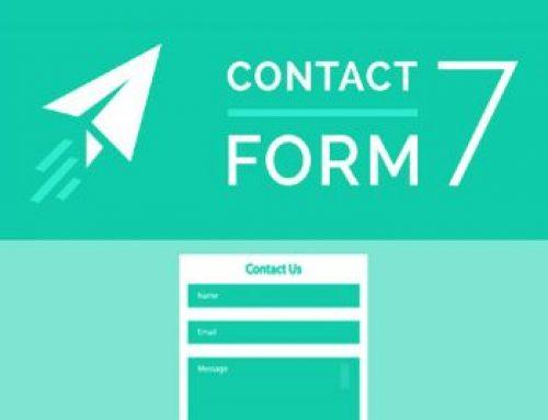 معرفی افزونه Contact form 7 + فیلم آموزشی