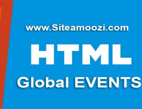 رویداد عمومی onwheel در HTML